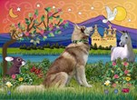 FANTASY LAND<br>& Siberian Husky(RED)