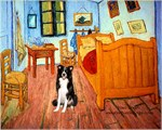 ROOM AT ARLES<br>& Border Collie