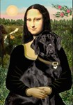 MONA LISA<br>& Black Labrador Retriever