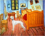 ROOM AT ARLES<br>& White Whippet