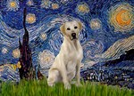 STARRY NIGHT<br>& Yellow Labrador Retriever