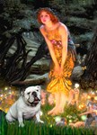 MIDSUMMER'S EVE<br>& White English Bulldog