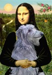 MONA LISA<br> & Scottish Deerhound