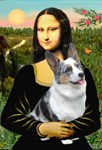 MONA LISA<br>& Blue Merle Welsh Corgi
