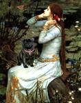 OPHELIA <br>& Black Pug