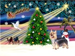 CHRISTMAS MAGIC<br>& Silky Terrier #10