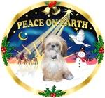 CHRISTMAS SUNRISE<br>& Shih Tzu