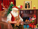 SANTA AT HOME<br>& Dachshund