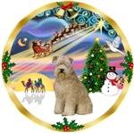 CHRISTMAS MAGIC<br>& Wheaten Terrier (#8)