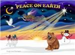 CHRISTMAS SUNRISE<br>& Chow Chow