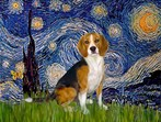 STARRY NIGHT<br>By Van Gogh