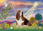 CLOUD ANGEL<br>& Basset Hound
