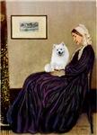 WHISTLERS MOTHER<br>&Eskimo Spitz #1