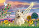CLOUD ANGEL<br>& West Highland Terrier#1