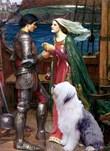 TRISTAM & ISOLDE<br>& Old English Sheepdog