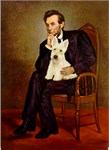 ABRAHAM LINCOLN<br>& Scottish Terrier