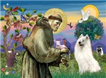 Saint Francis<br>& Samoyed