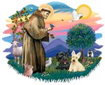 St. Francis #2 &<br> Scottish Terriers (two)