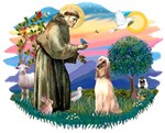 St. Francis #2 &<br> Afghan Hound