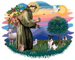 St. Francis #2 &<br> Fox Terrier