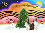 CHRISTMAS MUSIC<br> & TWO SHELTIES