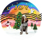 CHRISTMAS MUSIC #2<br>Roan Italian Spinone