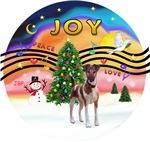 CHRISTMAS MUSIC #2<br>Fox Terrier (brown-white)<br