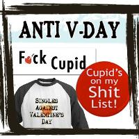Anti-Valentines Day T-shirts & Gifts