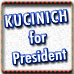 Dennis Kucinich T-shirts, Stickers, Buttons