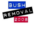 Bush Removal T-shirts, Anti-Bush Apparel