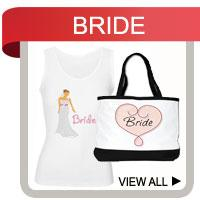 Bride T-shirts, Bride Gifts, Tote Bags