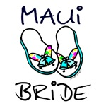 Maui Bride T-shirts, Hawaii Wedding Gifts