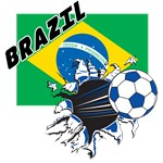 Brazil Soccer T-shirts, Posters, Bags, Swag