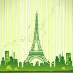 Eiffel Tower Shower Curtain, Decor, Gifts