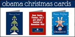 Obama Christmas Cards