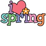 I Love Spring T-Shirts & Gifts