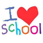 Kids I Love (Heart) School T-Shirts & Gifts