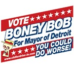 Official Boney Bob for Mayor of Detroit Swag