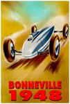 Bonville Vintage 1948 Auto Racing Advertising Prin