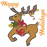 OYOOS Holiday Reindeer design