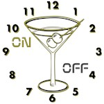 OYOOS Clock Cocktail Glass design
