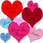 OYOOS Love Hearts design