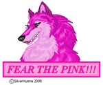 Fear the Pink!!! *Wolf*