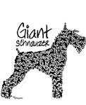 Fun Giant Schnauzer design