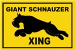 NEW! Giant Schnauzer lawn Signs