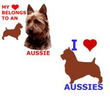 Austrailian Terrier, Aussie Dog Art