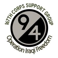 167th CSG in OIF