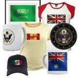 <b>Government Emblem/World Flag tees & gifts</b>