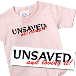 Humanist T-shirts | Free thought Gits | Unsaved ...and Loving it!