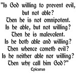 Epicurus quote stuff